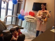 Infantil IIIB visita ao Consultório Odontológico