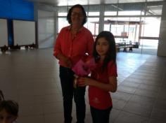 2º ano C recebe a vovó Rosa