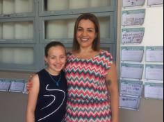 4º ano A ampliando o conhecimento com a mãe Manuela