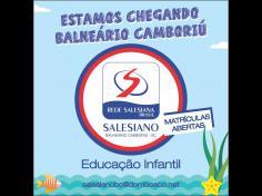 Novidade: Colégio Salesiano em Balneário Camboriú