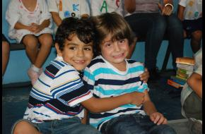 Escola é lugar para fazer amigos!