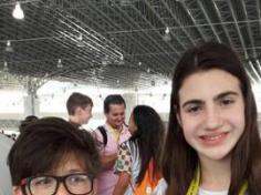 Alunos do Salesiano nos Jogos Escolares da Juventude